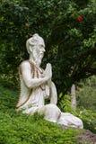 Steenbeeldhouwwerk in Ubud, Bali, Indonesië Stock Foto