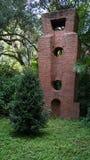 Steenbeeldhouwwerken, Ann Norton Sculpture Gardens, het Westenpalm beach, Florida Stock Foto's