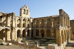 Steenbogen in verlaten klooster DE Rioseco Royalty-vrije Stock Afbeelding