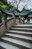 Steenbrug met draakbeeldhouwwerk, China Royalty-vrije Stock Foto