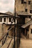 Steenbrug in Mostar Stock Afbeeldingen
