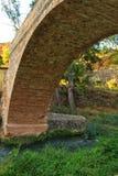 Steenbrug over Tuejar-Rivier royalty-vrije stock foto's