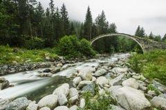 Steenbrug, Rize, TURKIJE Royalty-vrije Stock Afbeelding