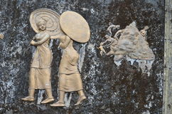 Steengravures Royalty-vrije Stock Afbeeldingen