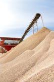 Steengroeve Conveyoer Stock Fotografie