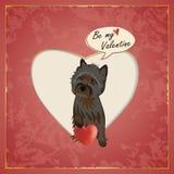 Steenhoop Valentine royalty-vrije illustratie
