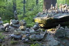 Steenhoop van stenen Royalty-vrije Stock Fotografie