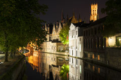 Steenhouwersdijk Bruges Royalty Free Stock Image