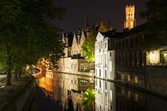 Steenhouwersdijk Bruges Royalty Free Stock Image