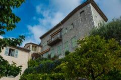 Steenhuis in Eze, Frankrijk Royalty-vrije Stock Afbeeldingen