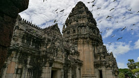 Steenkasteel in Thailand Royalty-vrije Stock Foto