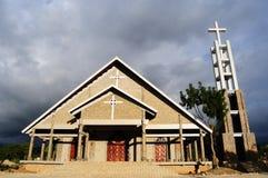 Steenkerk in Vietnam stock afbeeldingen
