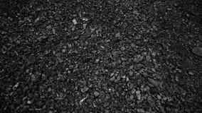 Steenkool in de achtergrondkolenmijn Open - gegoten mijnbouw stock video