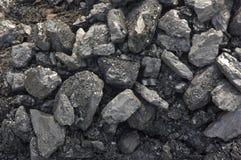 Steenkool-hoop Stock Afbeeldingen