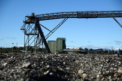 Steenkool loadout Royalty-vrije Stock Afbeelding