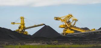 Steenkool sorterend materiaal stock afbeeldingen
