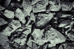 Steenkool van natuurlijke grondstoffen royalty-vrije stock afbeelding