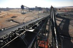Steenkoollevering stock afbeeldingen