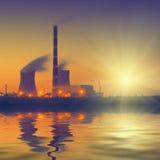 Steenkoolmacht plant_V1 Royalty-vrije Stock Foto