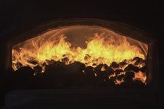 Steenkooloven Royalty-vrije Stock Afbeeldingen