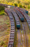 Steenkooltrein Stock Afbeelding
