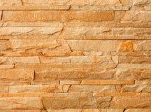 Steenmozaïek van zandsteentextuur die wordt gemaakt Royalty-vrije Stock Afbeelding