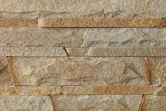 Steenmozaïek van zandsteentextuur die wordt gemaakt Royalty-vrije Stock Foto