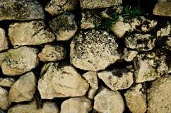 Steenmuur Stock Afbeelding