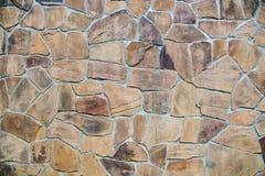 Steenmuur, de textuur van de baksteenrots, steen textur Royalty-vrije Stock Afbeeldingen