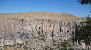 Steenmuur, vallei Stock Foto