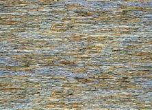 Steenmuur van zandsteen royalty-vrije stock afbeelding