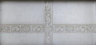 Steenornament (bladpatroon) royalty-vrije stock foto's
