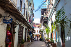 Steenstad Zanzibar Royalty-vrije Stock Afbeeldingen
