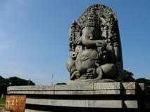 Steenstandbeeld van Ganesha Royalty-vrije Stock Afbeelding