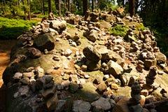 Steensteenhoop Royalty-vrije Stock Foto's