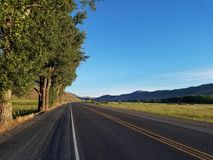 Steensweg dichtbij Kraan, Oregon royalty-vrije stock foto