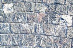 Steentegels die van het spoor worden gemaakt Stock Afbeeldingen