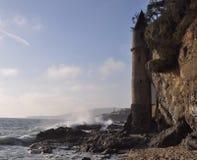 Steentoren in Laguna Beach Stock Foto's
