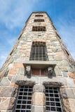 Steentoren in park Royalty-vrije Stock Fotografie