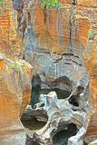 Steenvorming, het Gelukpotholes SA van Bourke stock afbeeldingen