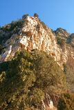 Steep cliff Royalty Free Stock Photography