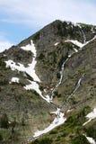 Steep cliff of mountain Royalty Free Stock Photos