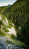 Steep cliff Royalty Free Stock Images