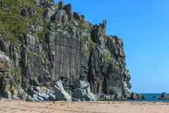 The steep cliff on the Peninsula. Royalty Free Stock Photography