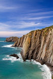 Steep cliffs Stock Photo