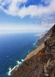 Steep cliffs at Grand Canary Stock Image