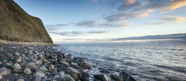Steep Cliffs at Kimmeridge Bay Royalty Free Stock Photos