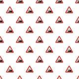 Steep climb pattern seamless vector illustration