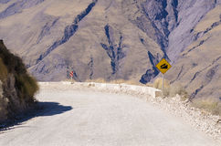 Steep descent Stock Photography