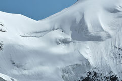 Steep Glacier Royalty Free Stock Photo